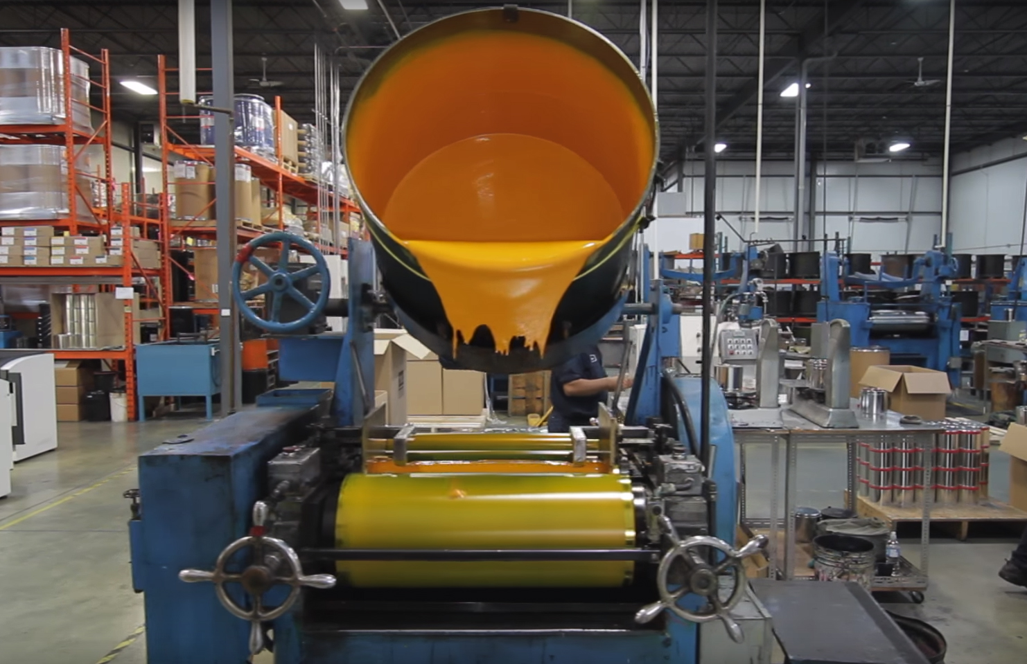 How (printing) ink is made